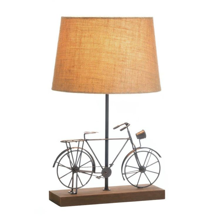 Table Lamp-Iron Old-Fashion Bicycle
