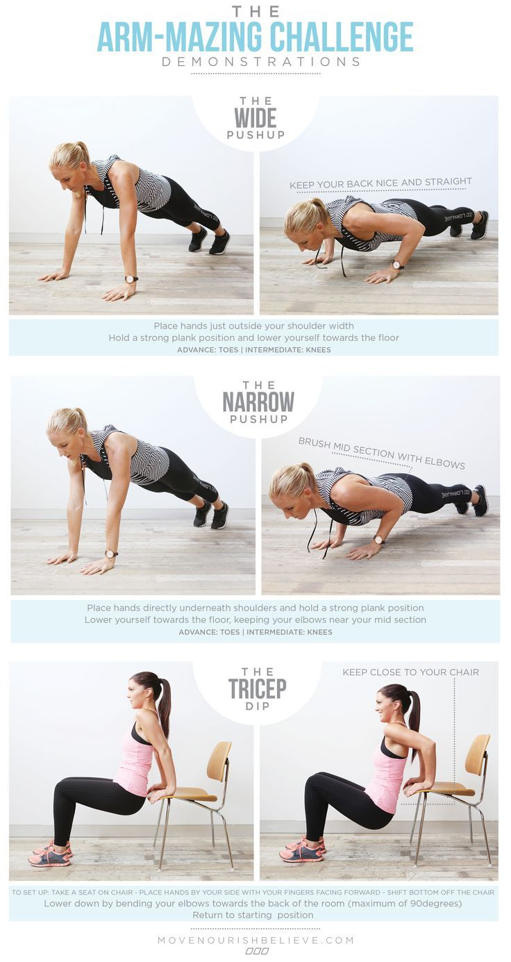 The Best Arm Workout! All from the comfort of your home :)