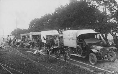 Olive Tree Genealogy Blog: Nursing Sister WW1 Photo Album  35V convoy