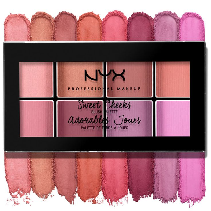 Buy NYX Professional Makeup Sweet Cheeks Blush Palette , luxury skincare, hair care, makeup and beauty products at Lookfantastic.com with Free Delivery.