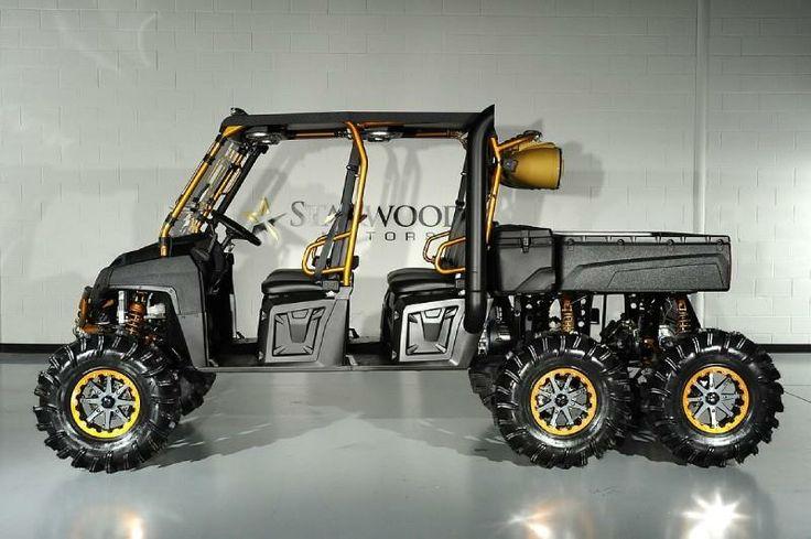 Go Kart Dallas >> Polaris Crew 6x6 Diesel | Sand rail, Atv accessories ...