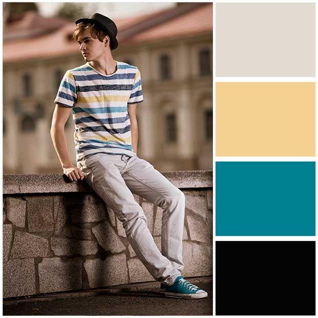 Combinar colores de ropa hombre como combinar colores de ropa para hombre 008}