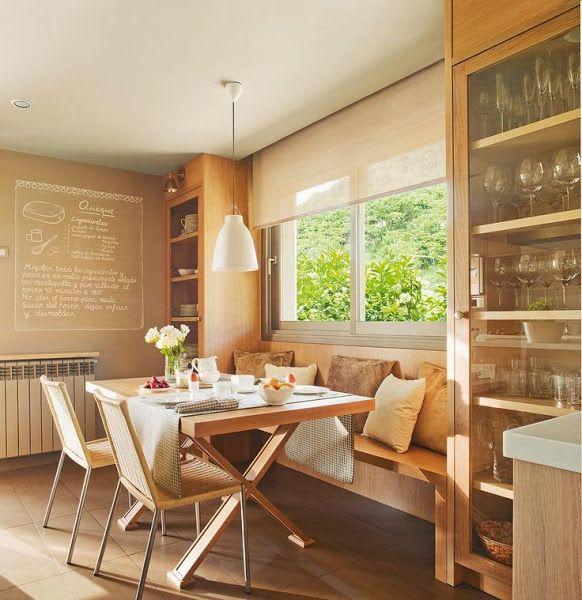 Banco para el comedor | Decorar tu casa es facilisimo.com