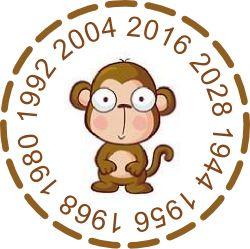 016 год обезьяны - какого цвета будет обезьяна, символ 2016 года?