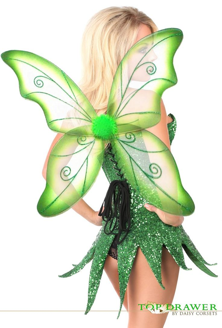 Costume sexy tinker bell wings