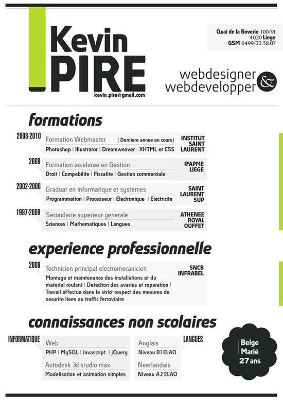 Très 158 best Design | Designers' Resumes images on Pinterest  LF48
