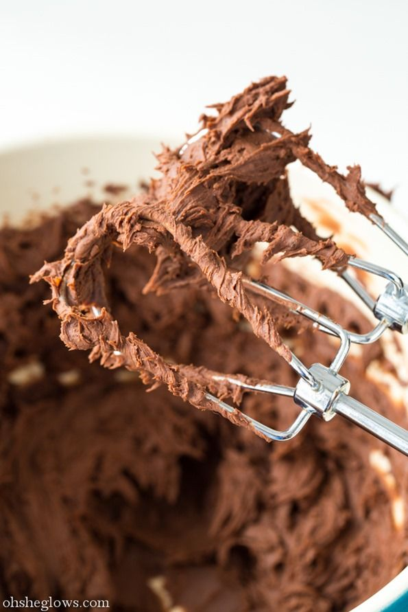 No way?! That's it??? 2 Ingredient Chocolate Fudge Frosting