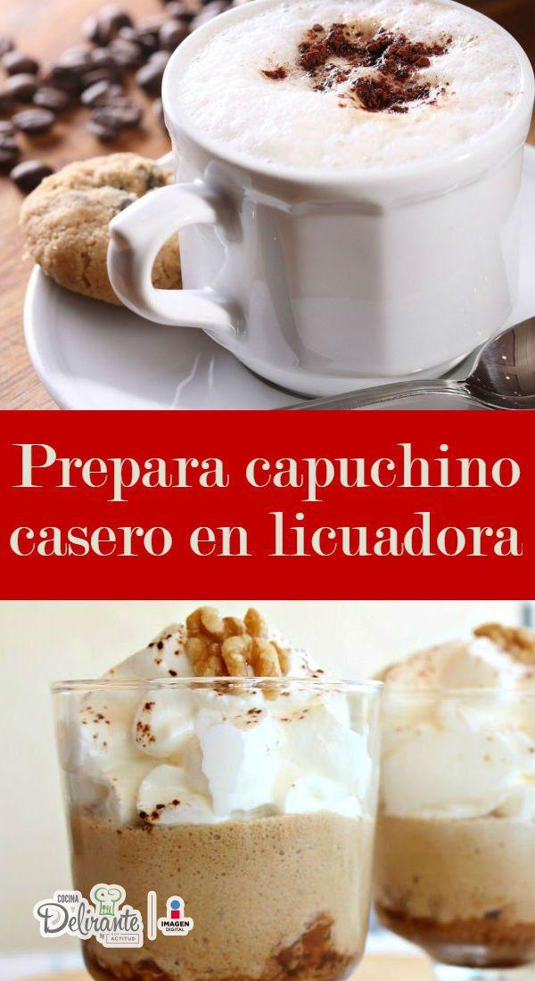 como hacer capuchino   CocinaDelirante