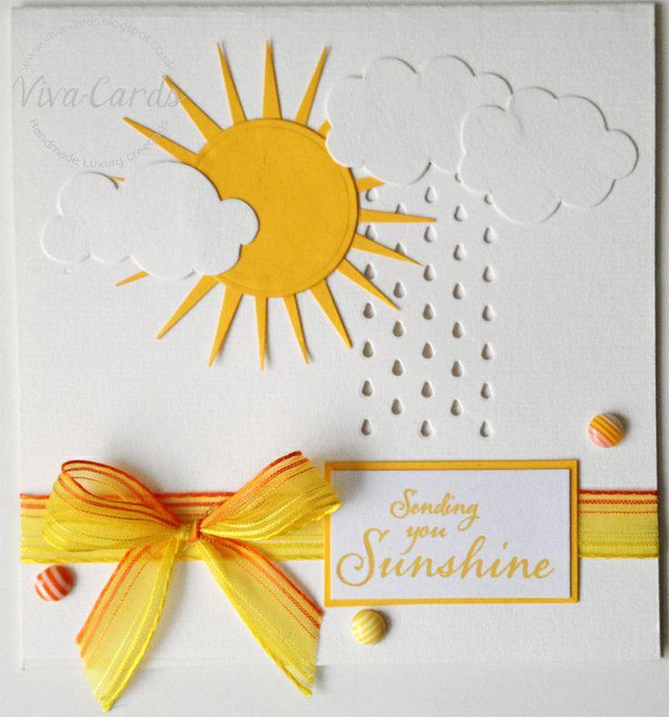 Yellow - Sunshine / Clouds Card