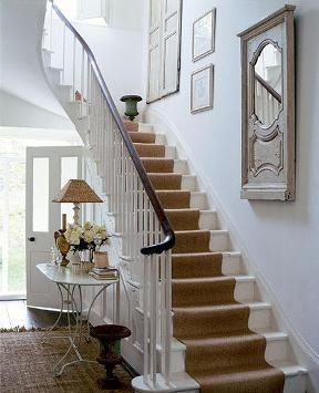 Teppe i trappen!