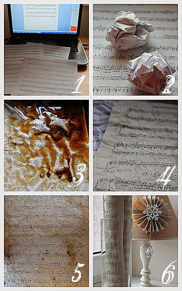 how to make music paper