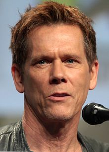 Kevin Norwood Bacon-- (born July 8, 1958) is an American actor and musician whose films include musical-drama film Footloose (1984), the controversial historical conspiracy legal thriller JFK (1991), the legal drama A Few Good Men (1992), the historical docudrama Apollo 13 (1995), and the mystery drama Mystic River (2003). Also on television, he starred in the Fox series The Following from 2013 to 2015. Bacon has won a Golden Globe Award and three Screen Actors Guild Awards, and was nominate