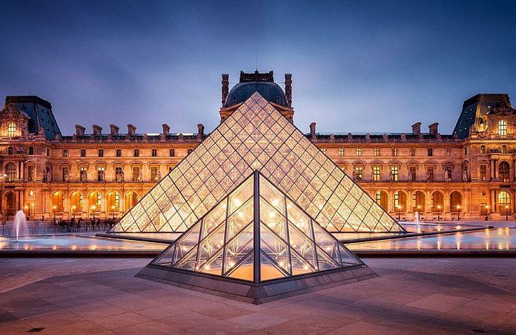 Museu do Louvre, o museu mais visitado do mundo
