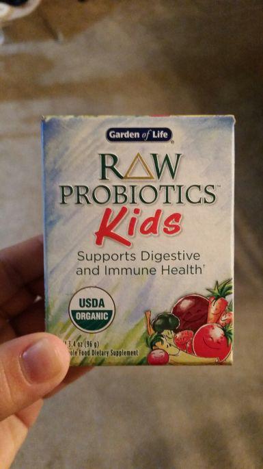 raw probiotics for the kiddos