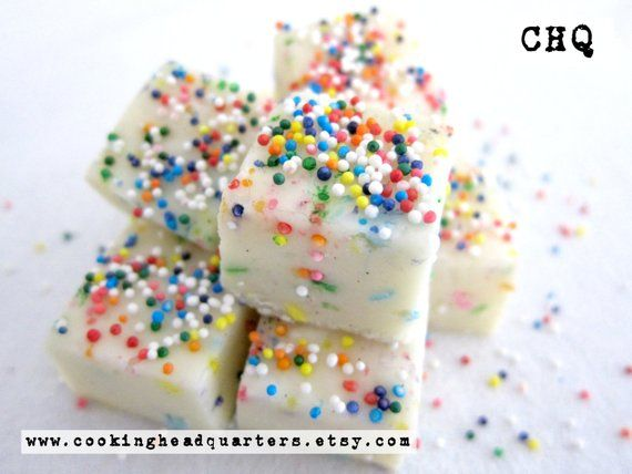 Birthday Cake Fudge Recipe Handmade Gifts Cookbook…