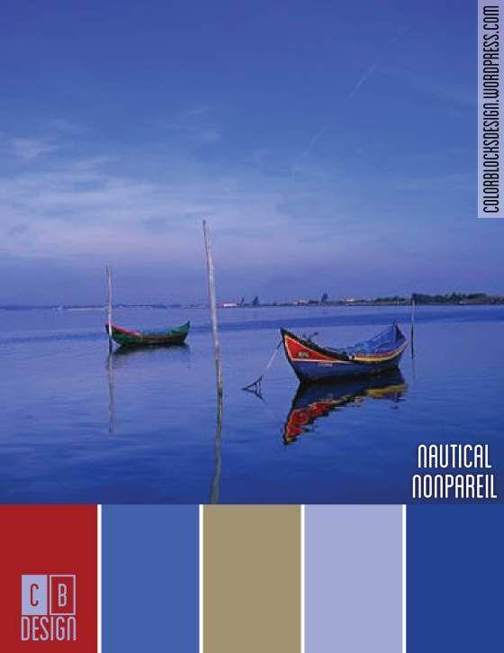 Nautical Nonpareil | Color Blocks Design 8.9.12
