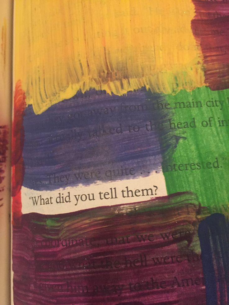 journal/painting/old books and real sentences