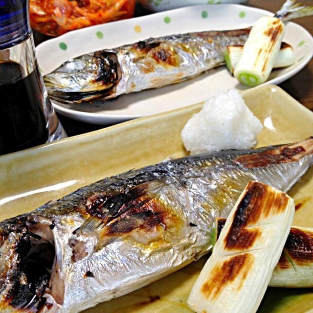 魚のかおがコワイ〜×××というむめの為、顔出しNG&遠目のphotoですw。先が思いやられマス〜☆ - 128件のもぐもぐ - あじの塩焼きです。レシピは下処理の方法を。でも百聞は一見に如かずwデス☆ by yumyumy1