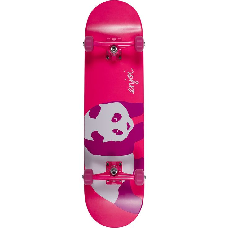 """Enjoi Skateboards Hi My Name Is Pinky Complete Skateboard - 8"""" x 32"""". One (1) Enjoi Skateboards Hi My Name Is Pinky Complete from Enjoi Skateboards. Deck Size: 8"""" x 32"""". Factory assembled by Enjoi Skateboards Skateboards and ready to skate. Includes trucks, wheels, bearings, hardware, and grip tape."""