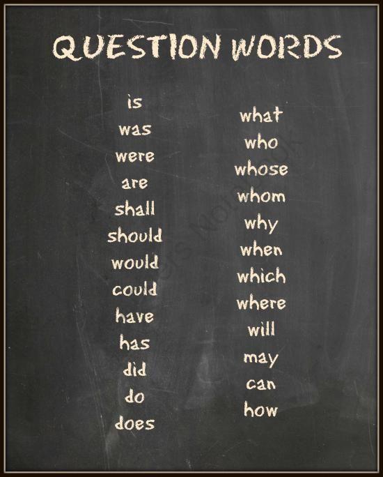 235 best images about Question Words Plans on Pinterest | Bingo ...
