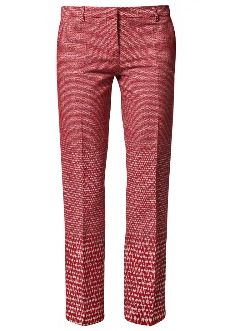 Trendy #cigaret #pants in het #rood van True Royal @ Zalando