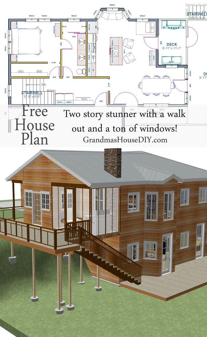 ideas about Free House Plans on Pinterest   House plans        ideas about Free House Plans on Pinterest   House plans  Bedroom House and Timber Frame Houses