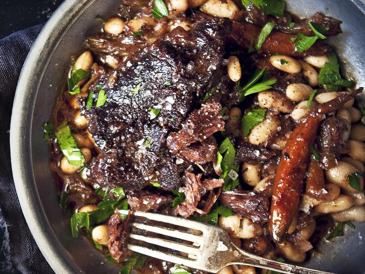 Joues de Boeuf en Daube (French Beef Cheeks) | RecipesPlus