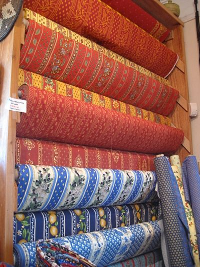 Country French Fabrics and Color | French fabric