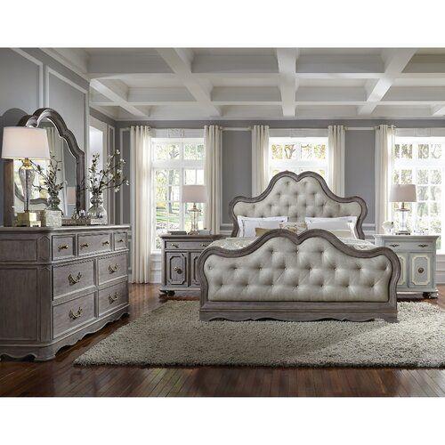 Rosdorf Park Yasmine Upholstered Standard Bed Reviews Wayfair In 2020 Bedroom Sets Queen Bedroom Set Upholstered Bedroom