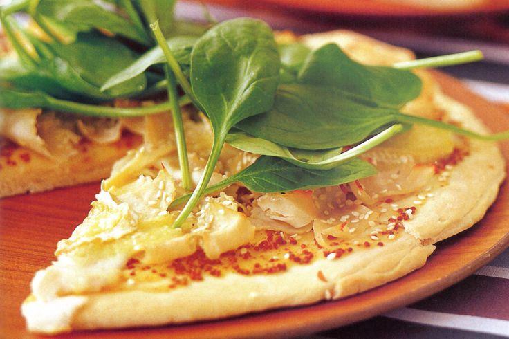 Thin & Crispy Pizza Bases Recipe - Taste.com.au