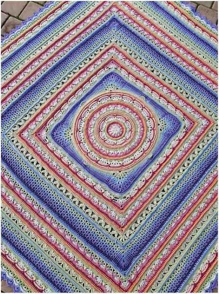 Lilliana Crochet Throw – Free Pattern | STYLESIDEA