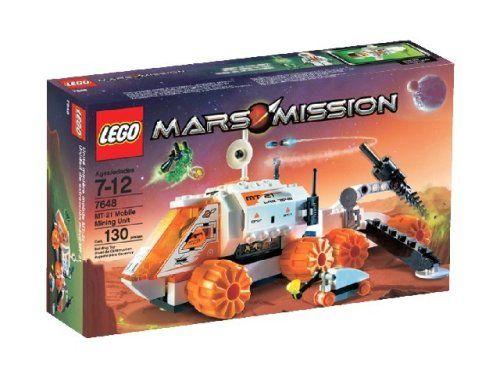 LEGO Mars Mission Mobile Mining Unit