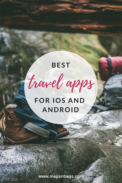 Check out the best travel apps you must have! There are many apps for basically everything nowadays, and traveling is definitely one of them. I have listed in this post the essentials travel apps for iOS and Android to make your travel even better! #apps #travel #traveltips
