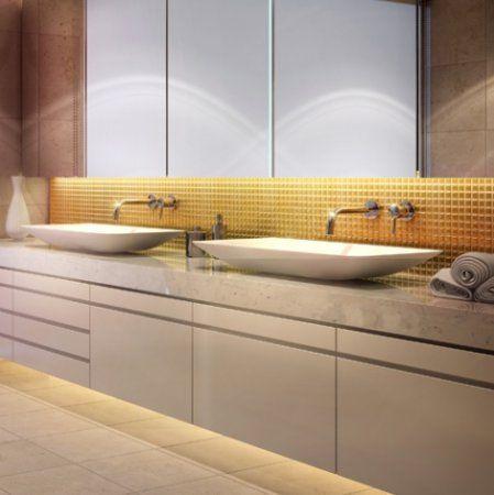 mojo rectangle counter top basin