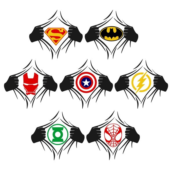 SuperHero Cuttable Design Cut File. Vector, Clipart, Digital Scrapbooking Download, Available in JPEG, PDF, EPS, DXF and SVG. Works with Cricut, Design Space, Sure Cuts A Lot, Make the Cut!, Inkscape, CorelDraw, Adobe Illustrator, Silhouette Cameo, Brother ScanNCut and other software.