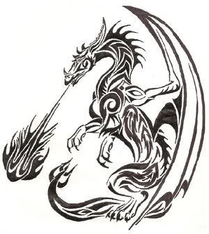 Just letting you know that the dragon artwork is on my Dragons board!