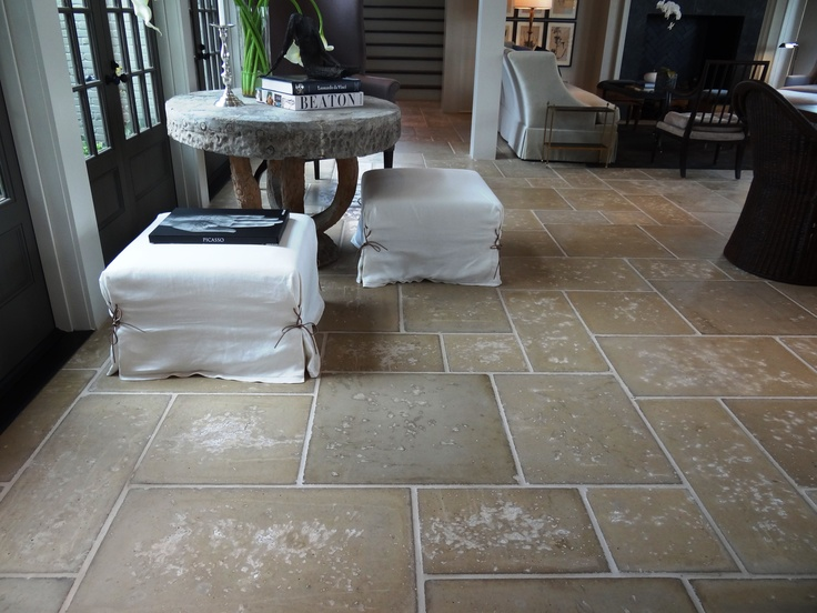 Love these concrete floors from www.peacockpavers.com  They look like travertine but are not as fragile.