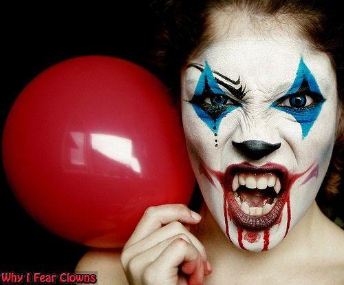 33 best Clown faces images on Pinterest   Halloween ideas ...