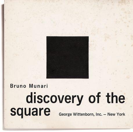 Discovery of the square Bruno Munari