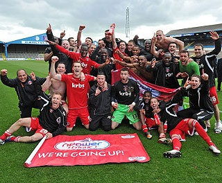 Charlton Athletic are going up to the Championship