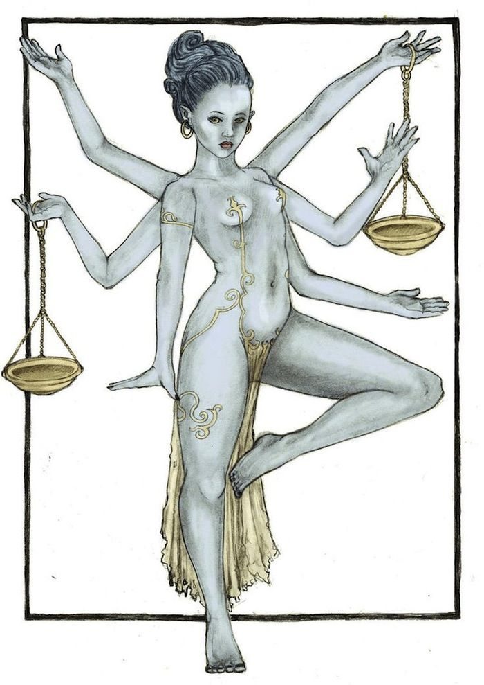 VENUS IS HER NAME: A YOGA SEQUENCE FOR LIBRA [image: Brittany Alcorn]