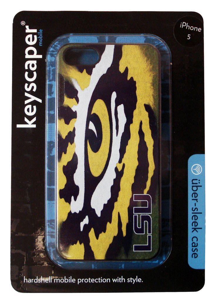 LSU Tigers Eye LSU design on iPhone 5c