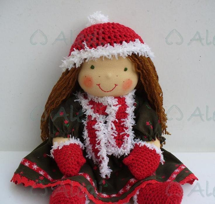 A Perfect Christmas Waldorf doll