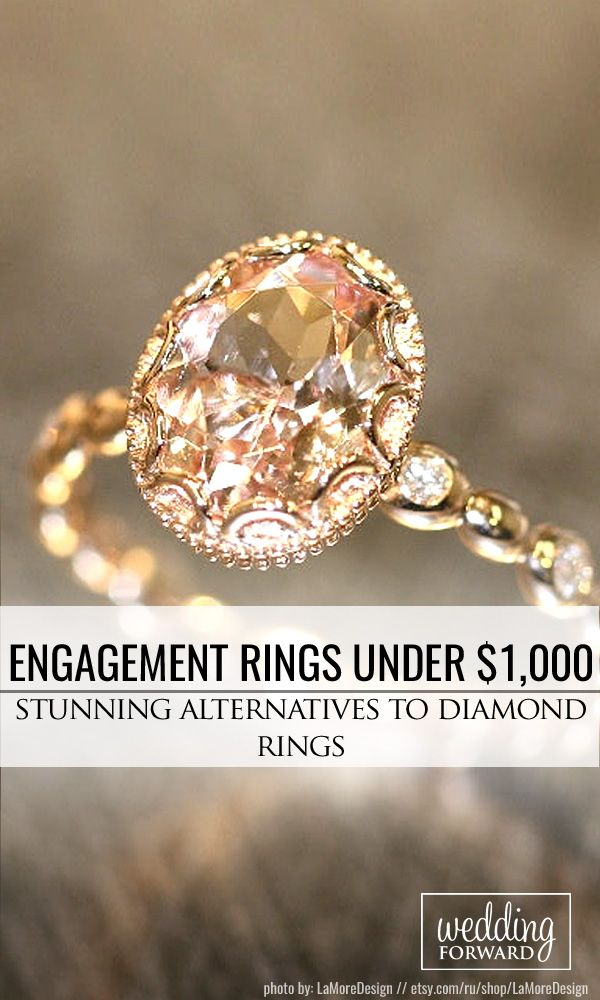18 Budget-Friendly Engagement Rings Under $1,000 ❤ We gathered collection of cheap engagement rings with different settings, each ring are stunning and unique!  See more: http://www.weddingforward.com/cheap-engagement-rings/ #wedding #engagement #rings