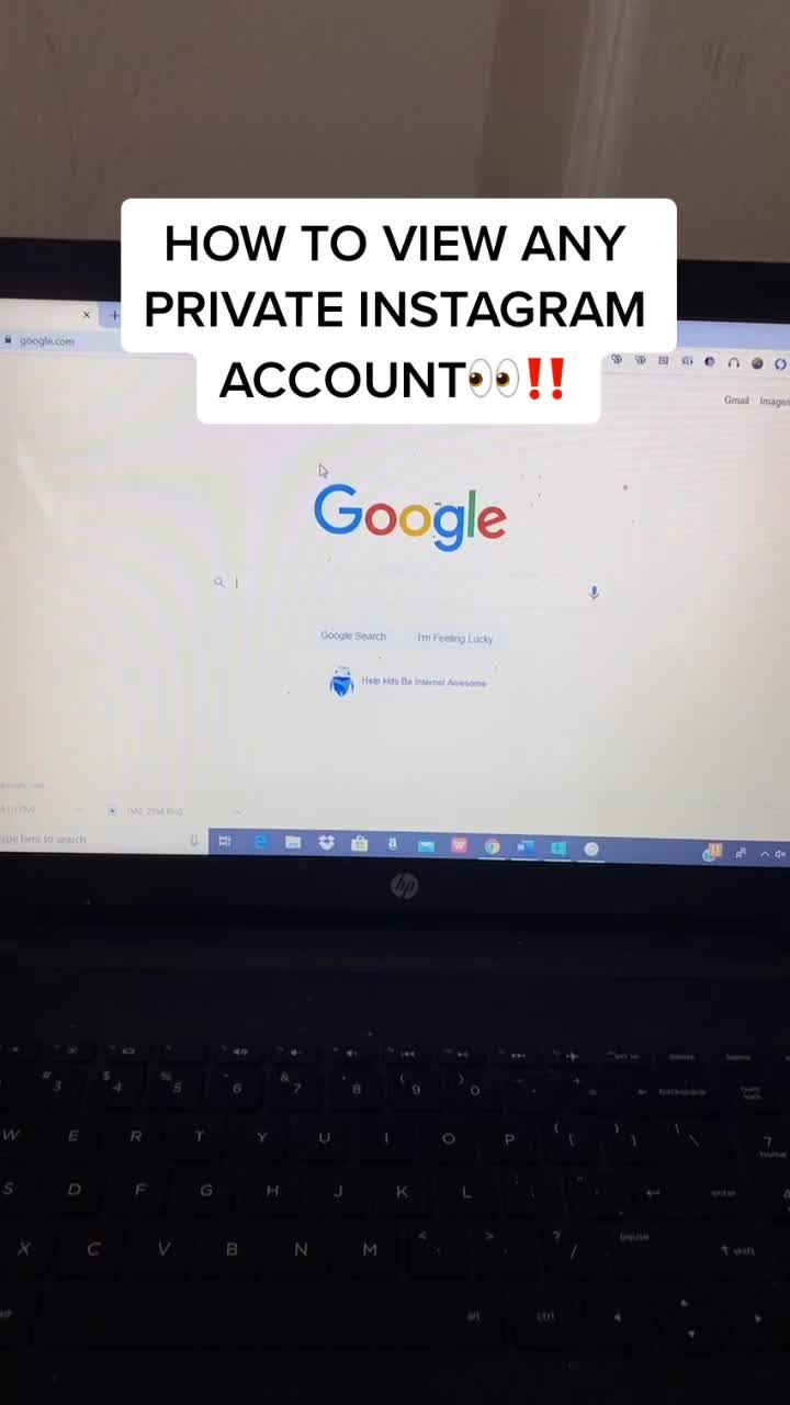 Trueyt Trueyyt On Tiktok How To View Any Private Instagram Account Fyp Foryou Phonehack Lifehack Viral