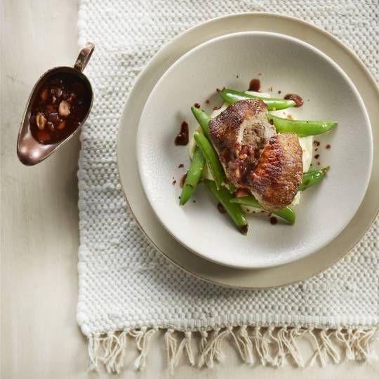 Recept - Gevulde varkensfilet met bramenjus - Boodschappenmagazine