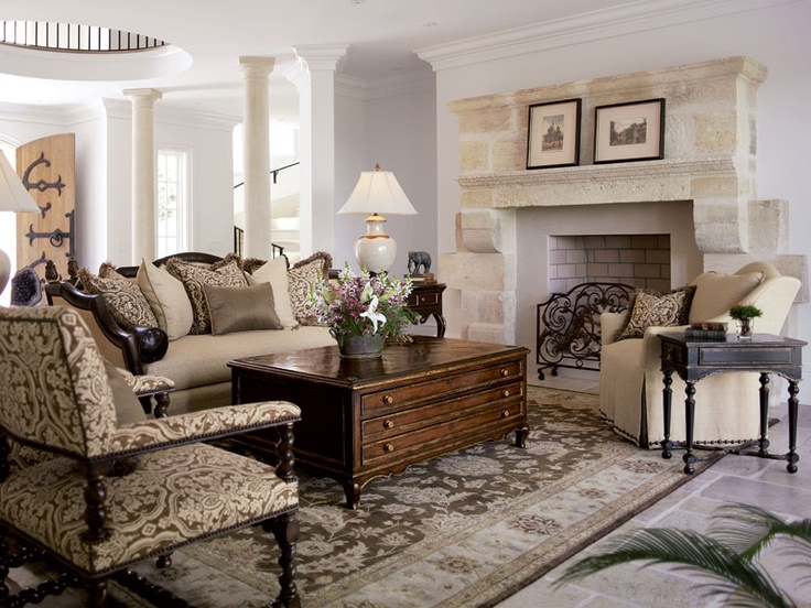 Country Manor Living Room By Marge Carson Rooms That I