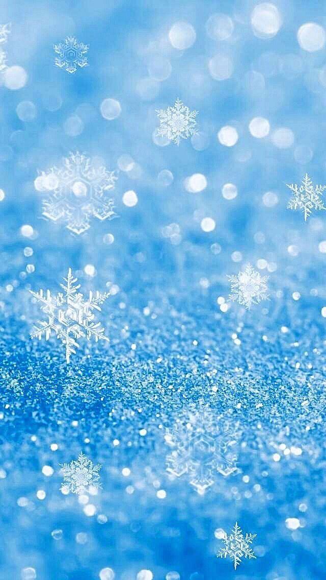 Wallpaper iPhone/snowflakes/beautiful winter ❄️