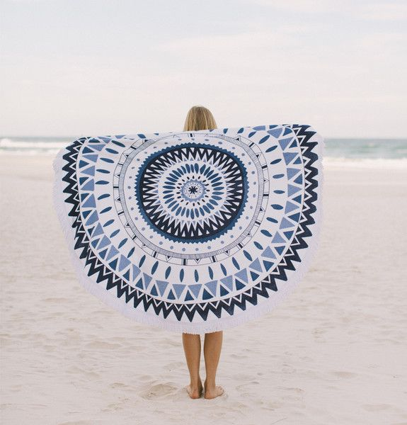 'The Marjorelle' Roundie Towel by The Beach People