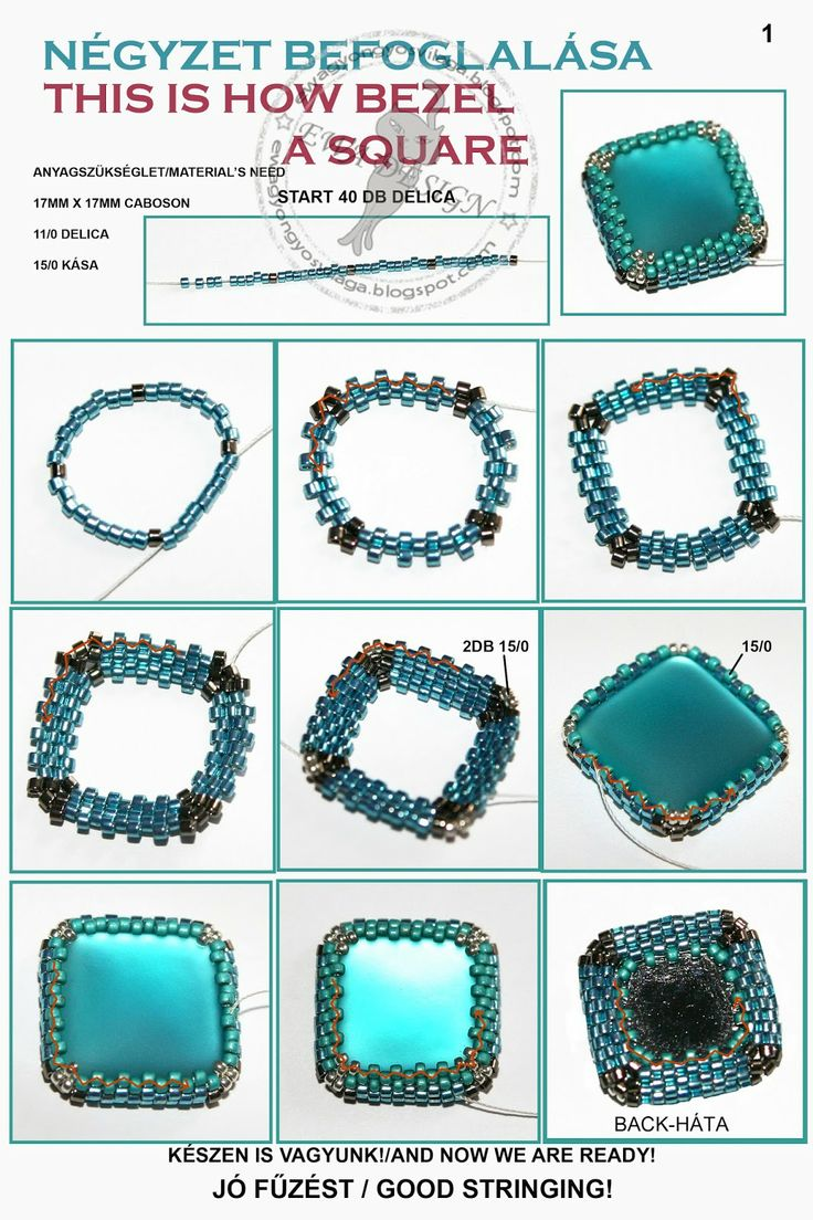 How to bezel a square